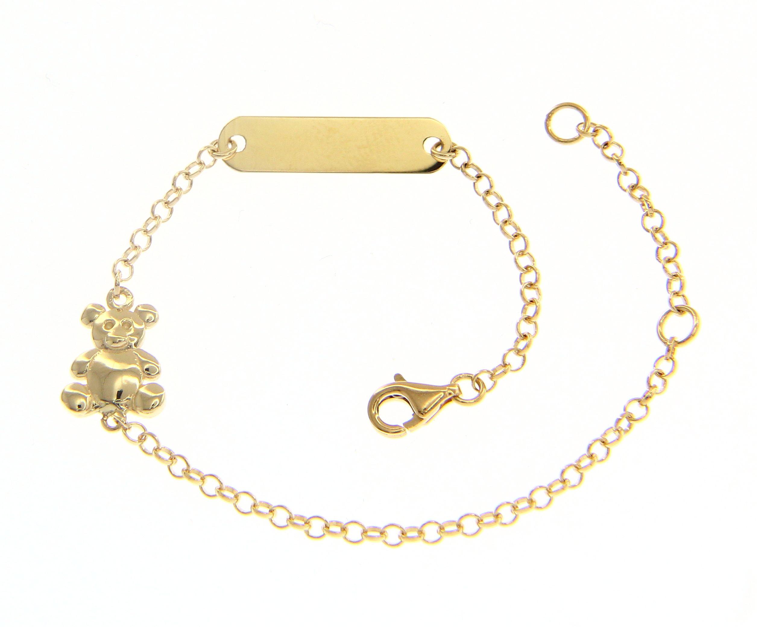Beautiful 18ct Yellow Gold 16 cm Bracelet