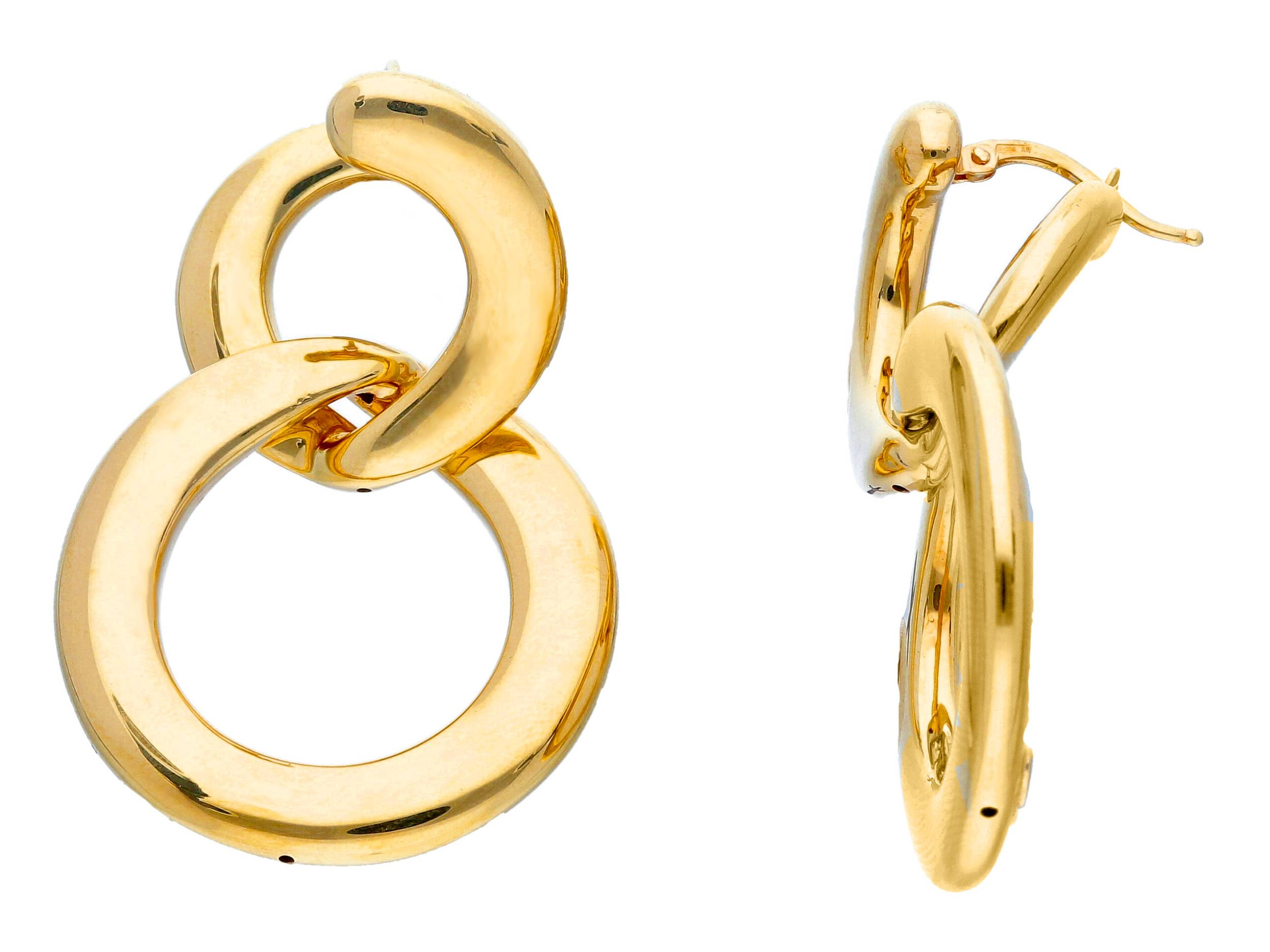 Beautiful 18ct Yellow Gold Drop Earrings