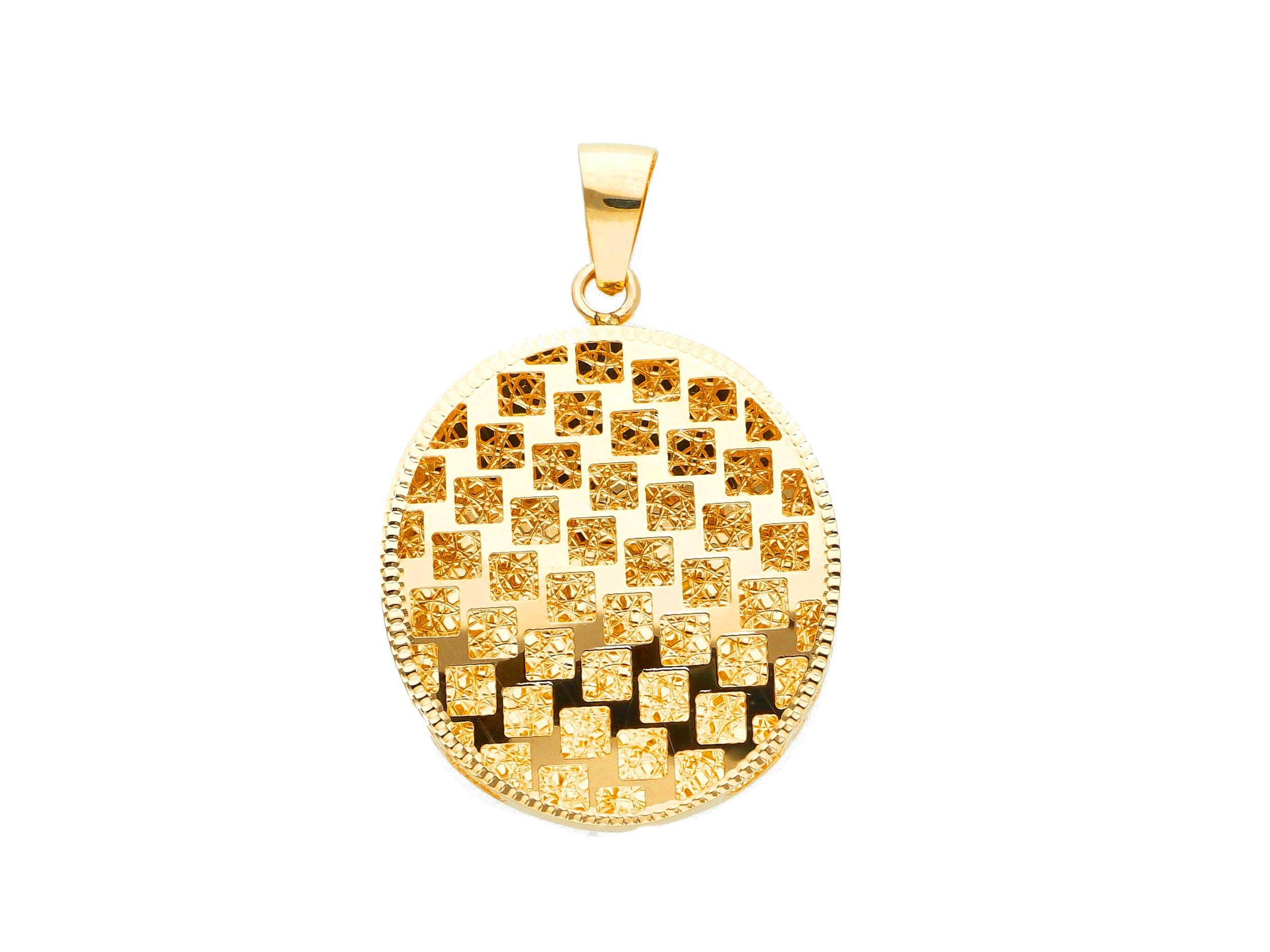 Beautiful 18ct Yellow Gold Pendant