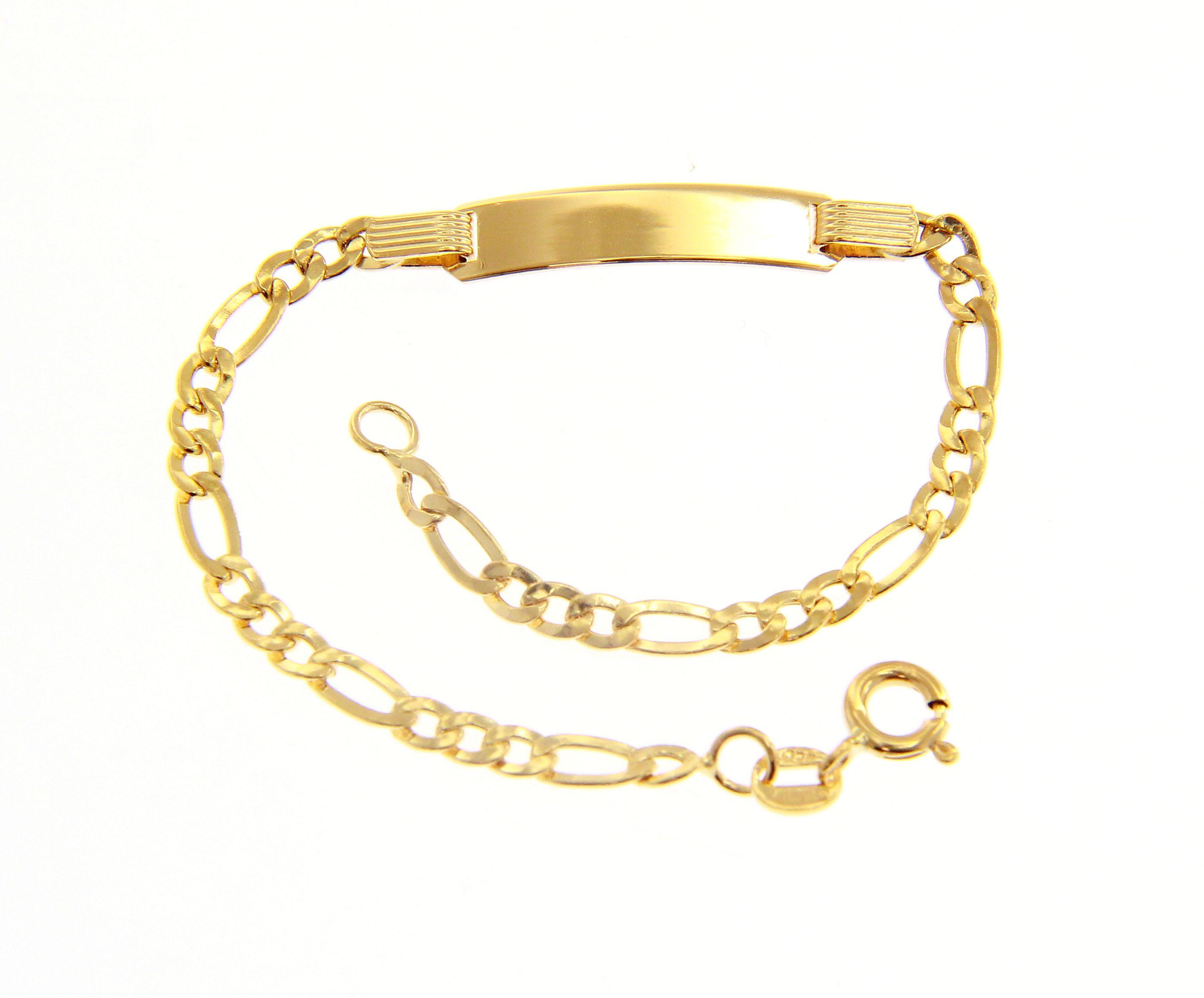 Beautiful 18ct Yellow Gold 16,5 cm Bracelet